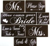 Wedding Sign Package